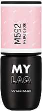 Fragrances, Perfumes, Cosmetics Hybrid Nail Polish - MylaQ UV Gel Polish (M107 -My No Filter)