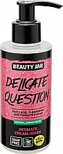 Fragrances, Perfumes, Cosmetics Intimate Wash Cream-Gel - Beauty Jar Delicate Question Intimate Cream-Wash
