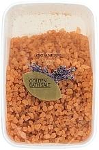 "Fragrances, Perfumes, Cosmetics Coarse-Grained Bath Salt ""Golden"" - Organique Bath Salt Golden"