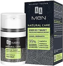 Fragrances, Perfumes, Cosmetics Anti-Wrinkle Face Cream - AA Men Natural Care Anti-Wrinkle Face Cream