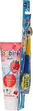 Fragrances, Perfumes, Cosmetics Set 1-6 years - Bobini (toothbrush + toothpaste/75ml)