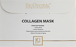 Fragrances, Perfumes, Cosmetics Face Mask - BioDermic Collagen Mask
