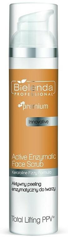 Enzyme Face Peeling - Bielenda Professional Premium Total Lifting PPV+ Enzymatic Active Face Peeling