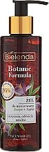 Fragrances, Perfumes, Cosmetics Face Gel - Bielenda Botanic Formula Hemp Oil + Saffron Moisturizing Face Wash Gel