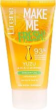 Fragrances, Perfumes, Cosmetics Yuzu & Moringa Cleansing Gel - Lirene Make Me Clean! Fresh Vegetable Gel