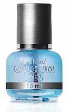Fragrances, Perfumes, Cosmetics Natural Problem Nails Nourishing Treatment - Silcare Calcium Gel