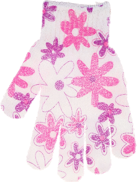 Bath Sponge-Glove, 30512, multicolored - Top Choice