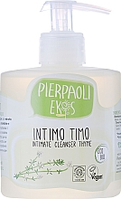 Fragrances, Perfumes, Cosmetics Antibacterial Soap for Intimate Hygiene with Organic Thyme Extract - Ekos Personal Care Thyme Intimate Cleanser (with dispenser)