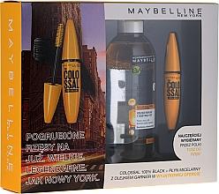 Fragrances, Perfumes, Cosmetics Set - Maybelline (mascara/10.7ml + mic/water/400ml)