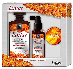 Fragrances, Perfumes, Cosmetics Set - Farmona Jantar (shm/330ml+h/cond/100ml+mirror)