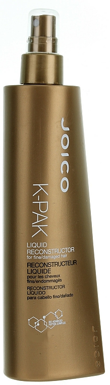 Liquid Reconstructor for Thin & Damaged Hair - Joico K-Pak Liquid Reconstructor