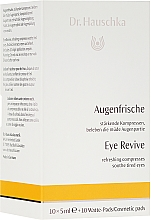 Fragrances, Perfumes, Cosmetics Refreshing Compresses for Tired Eyes - Dr. Hauschka Augenfrische Augenserum