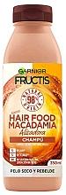 Fragrances, Perfumes, Cosmetics Ultra-Nourishing Shampoo - Garnier Fructis Hair Food Macadamia Smoothing Shampoo