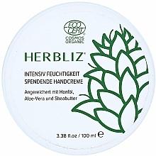 Fragrances, Perfumes, Cosmetics Intensive Moisturizing Hand Cream - Herbliz