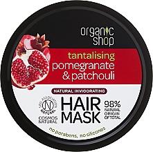 "Fragrances, Perfumes, Cosmetics Hair Mask ""Pomegranate & Pauchuli"" - Organic Shop Mask Pomegranate and Patchouli"