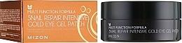 Fragrances, Perfumes, Cosmetics Regenerating Eye Patches - Mizon Snail Repair Intensive Gold Eye Gel Patch