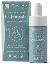 Fragrances, Perfumes, Cosmetics Smoothing Bioactive Serum - La Saponaria Spot-Corrector Serum