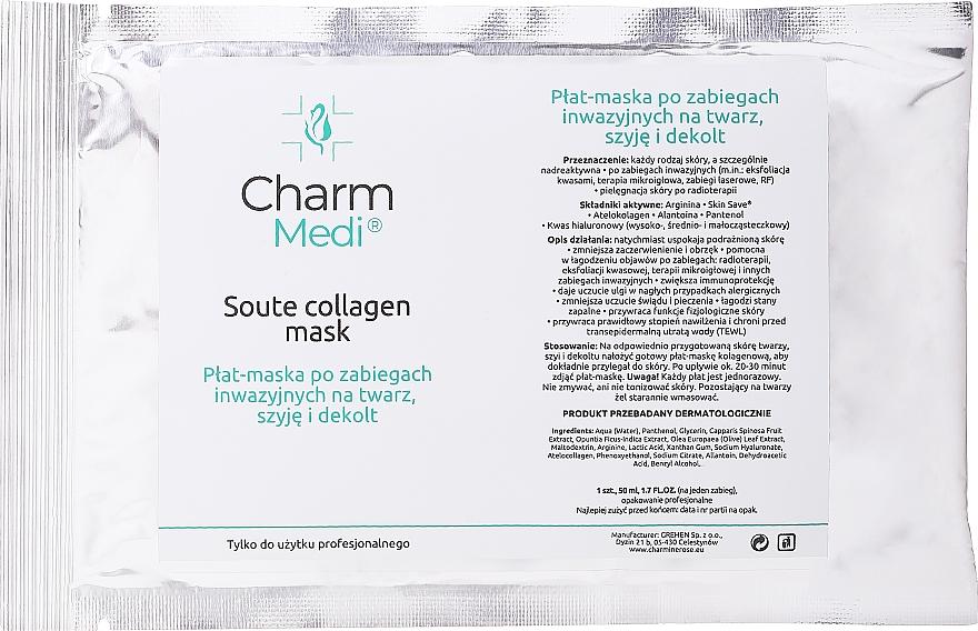 Collagen Face Mask - Charmine Rose Charm Medi Soute Collagen Mask — photo N1