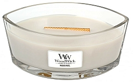 Fragrances, Perfumes, Cosmetics Scented Candle in Glass - WoodWick Hearthwick Flame Ellipse Candle Warm Wool