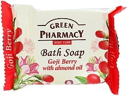 "Fragrances, Perfumes, Cosmetics Soap ""Goji Berry & Almond Oil"" - Green Pharmacy"
