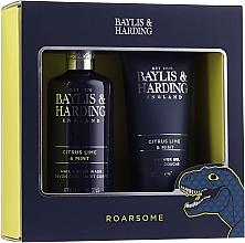 Fragrances, Perfumes, Cosmetics Set - Baylis & Harding Men's Citrus Lime & Mint 2 Piece Set(hair/body/wash/300ml+sh/gel/200ml)