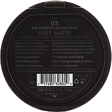 Face Bronzer - Milani Silky Matte Bronzing Powder — photo N2