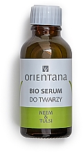Fragrances, Perfumes, Cosmetics Face Serum with Neem & Tulsi Oils - Orientana Bio Serum For Face