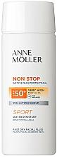 Fragrances, Perfumes, Cosmetics Face Fluid - Anne Moller Non Stop Facial Fluid SPF50+