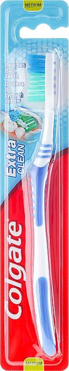 """Toothbrush Medium """"Extra Clean"""", blue - Colgate Extra Clean Medium"""