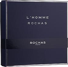 Fragrances, Perfumes, Cosmetics Rochas L'Homme Rochas - Set (edt/100ml + sh/gel/100 + ash/b/100ml)