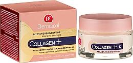 Fragrances, Perfumes, Cosmetics Intensive Rejuvenating Night Cream - Dermacol Collagen+ Intensive Rejuvenating Night Cream