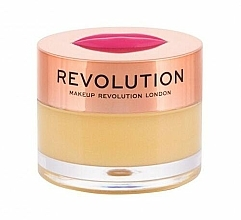 Fragrances, Perfumes, Cosmetics Pineapple Crush Lip Balm-Mask - Makeup Revolution Kiss Lip Balm Pineapple Crush