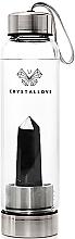 Fragrances, Perfumes, Cosmetics Black Obsidian Water Bottle, 500 ml - Crystallove