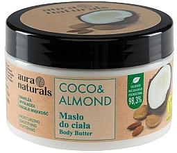 Fragrances, Perfumes, Cosmetics Coconut & Almond Body Butter - Aura Naturals Coco & Almond Body Butter