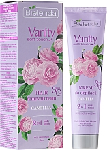 "Fragrances, Perfumes, Cosmetics Depilatory Cream ""Camelia"" - Bielenda Vanity Soft Touch Kamelia"