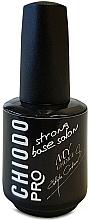 Fragrances, Perfumes, Cosmetics Gel Hybrid Nail Polish Base Coat - Chiodo Pro Base Strong Salon