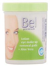Fragrances, Perfumes, Cosmetics Micellar Lotion Pads with Aloe Vera - Bel Premium Lotion Eye Make-Up Pads Aloe Vera