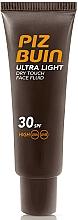 Fragrances, Perfumes, Cosmetics Face Fluid - Piz Buin Ultra Light Dry Touch SPF30