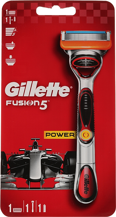Shaving Razor with 1 Refill Cartridge - Gillette Fusion5 ProGlide Power