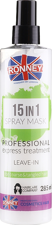 All Hair Types Spray - Ronney 15in1 Spray Mask Professional Express Treatment Leave-In