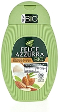 Fragrances, Perfumes, Cosmetics Almond & Coconut Shower Gel - Felce Azzurra BIO Almond & Coconut Shower Gel