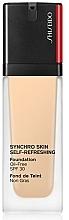 Fragrances, Perfumes, Cosmetics Long-Lasting Foundation - Shiseido Synchro Skin Self-Refreshing Foundation SPF 30