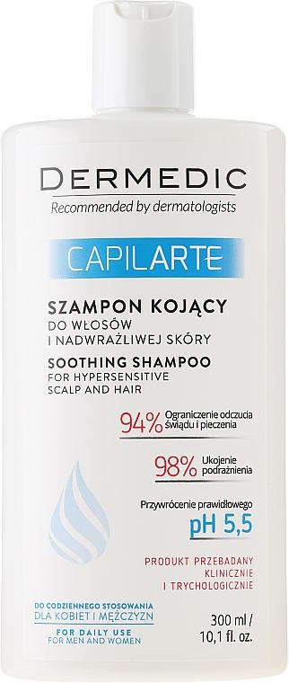 Soothing Shampoo for Sensitive Scalp - Dermedic Capilarte Shampoo