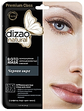 Fragrances, Perfumes, Cosmetics Black Caviar Face, Neck & Eye Boto Mask - Dizao Natural