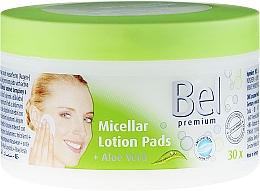 Fragrances, Perfumes, Cosmetics Micellar Lotion Pads with Aloe Vera - Bel Premium Lotion Pads with Aloe Vera
