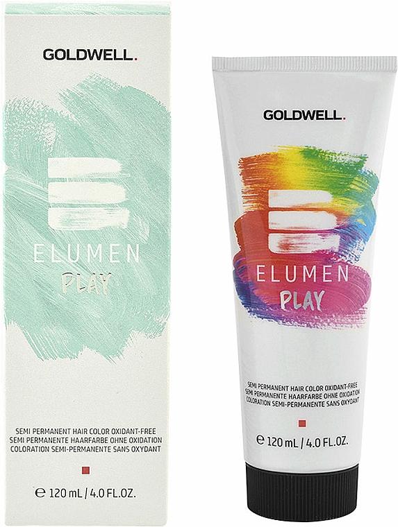 Hair Color - Goldwell Elumen Play Semi-Permanent Hair Color Oxydant-Free (Black)