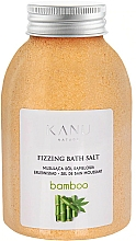 "Fragrances, Perfumes, Cosmetics Fizzy Bath Salt ""Bamboo"" - Kanu Nature Bamboo Bath Salt"