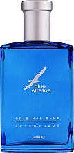 Fragrances, Perfumes, Cosmetics Parfums Bleu Blue Stratos Original Blue - After Shave Lotion