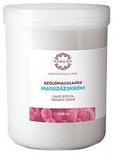 "Fragrances, Perfumes, Cosmetics Massage Cream ""Grape Seed Oil"" - Yamuna Massage Cream"