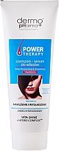 "Fragrances, Perfumes, Cosmetics Hair Serum-Shampoo ""Moisturizing & Smoothing"" - Dermo Pharma Power Therapy Deep Moisturizing & Smoothing Shampoo"